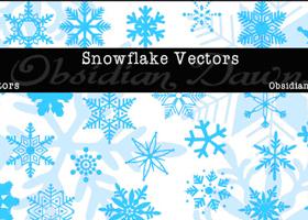 snowflakeIllustratorVectors