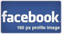 Facebook Profile Template - 160px profile pic update