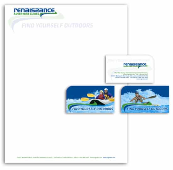 Renaissance Adventure Guides - Small Business Branding and Stationery Design