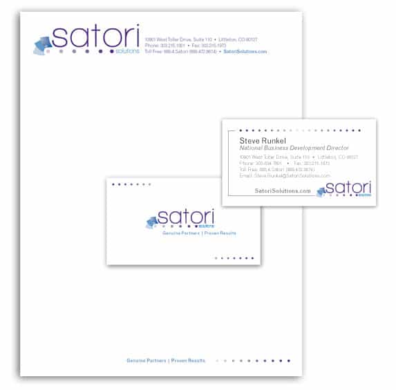 Satori - Small Business Stationery Design