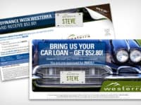 Auto Loan Postcard