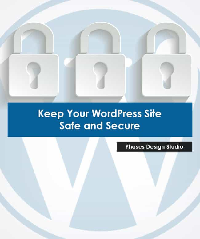 how to make wordpress site secure