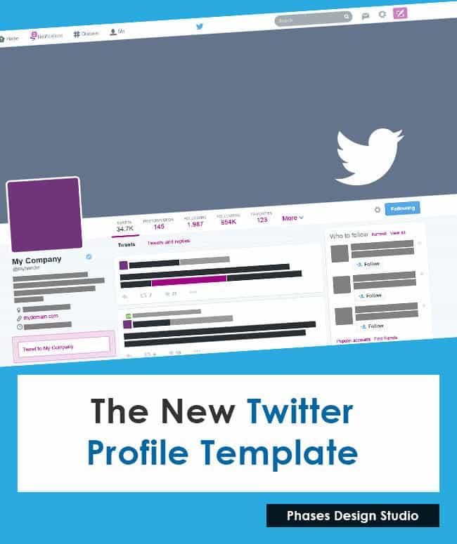 social media profile templates phases design studio. Black Bedroom Furniture Sets. Home Design Ideas