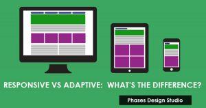 Responsive Vs Adaptive Web Design Feature