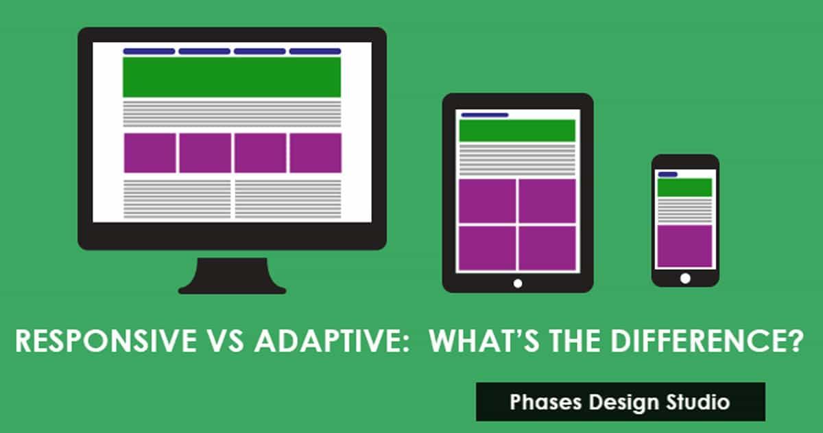Compare Responsive Vs Adaptive Website Design