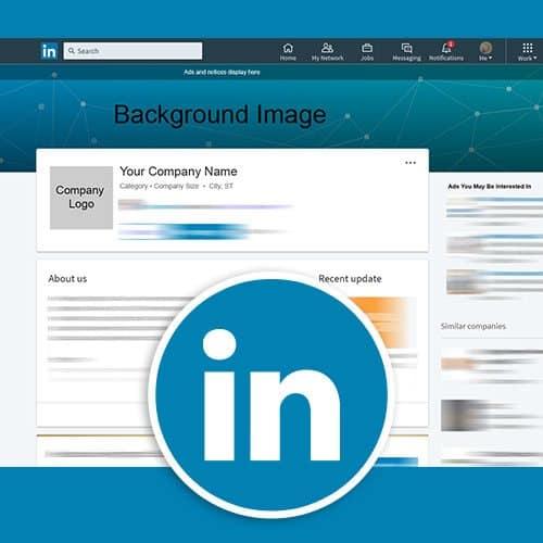 Linkedin Photoshop Company Profile Template Phases