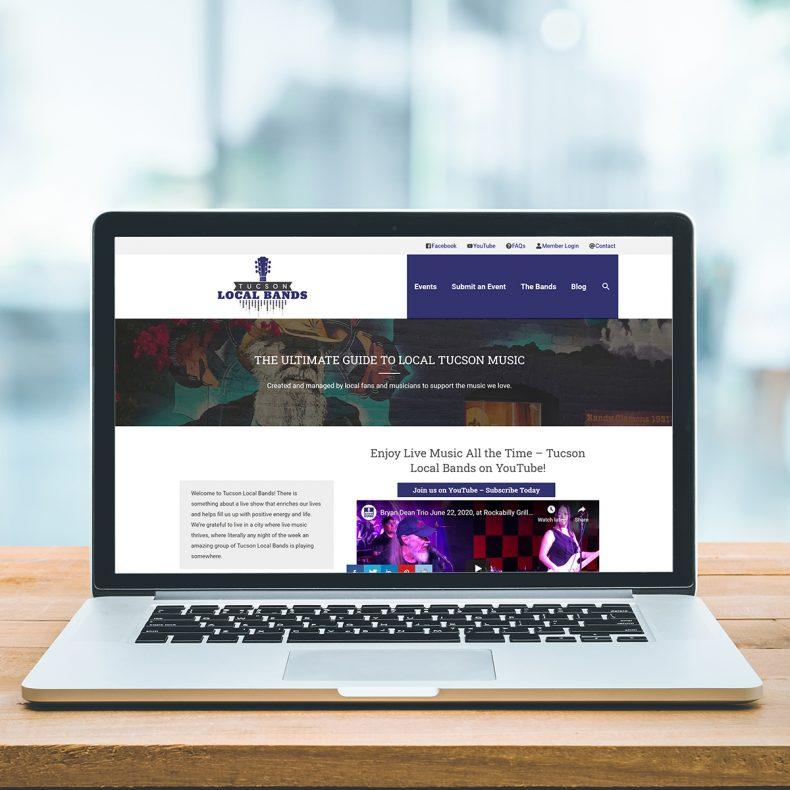 Web Site Home Tucson Band