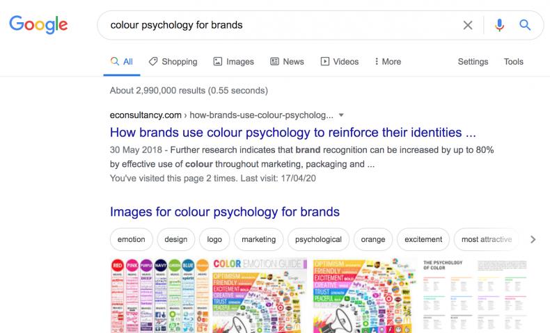 Google White Web Design
